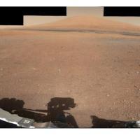 تصویری 360 درجه با وضوح بالا از محل فرود کنجکاوی بر روی مریخ